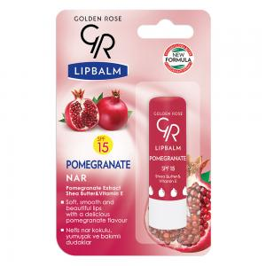 Lipbalm Ρόδι (Pomegranate) (SPF 15)